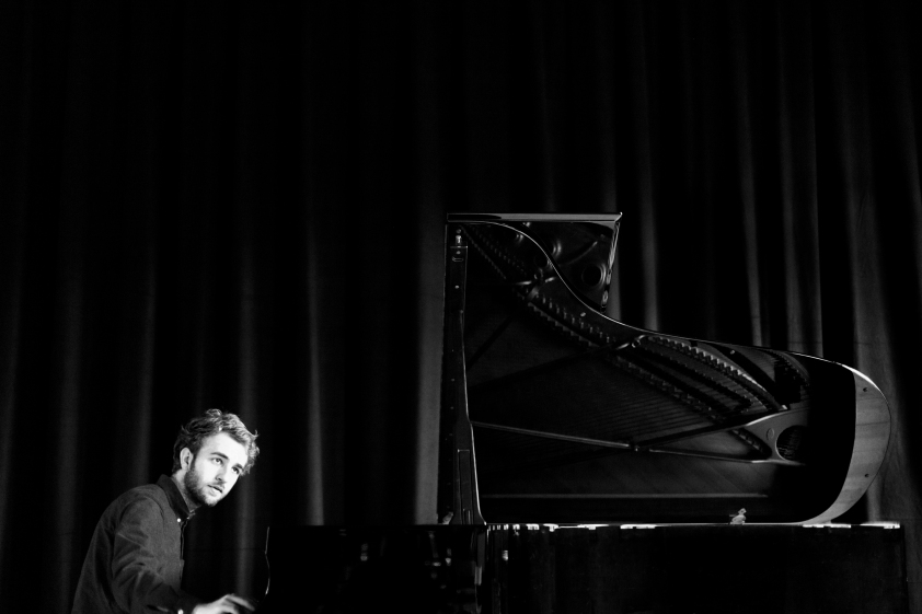2015, Esben Højlund Portræt, Musik, pianist